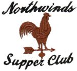 Northwinds Supper Club, Custom Embroidered Logo